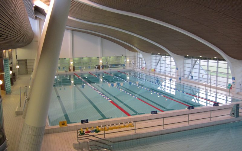 Kuva uimahallista