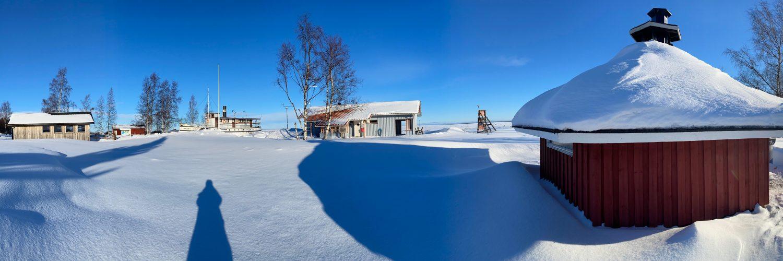 Panorama kuva Varjakasta